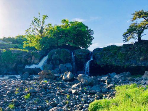 鮎壺の滝|黒澤明監督の名作、七人の侍でロケ地になったジオパーク!