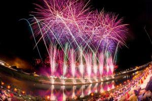 2018年伊豆の国花火大会(きにゃんね大仁夏祭り)