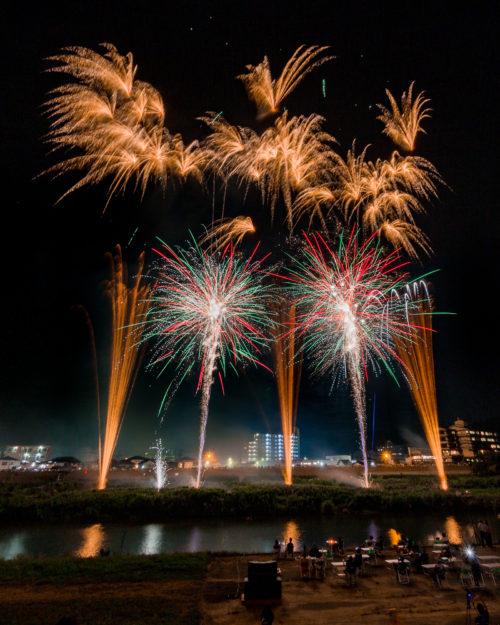 2018年伊豆の国花火大会(伊豆長岡・韮山)