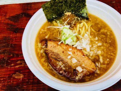 麺屋台かじまや|黒柳駐車場に突如現れる伊豆長岡の激レアラーメン