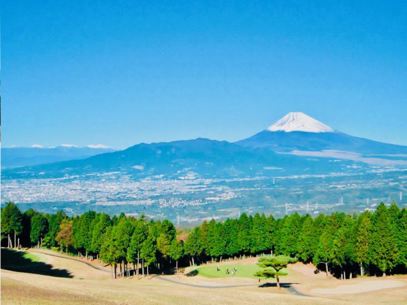 富士カントリークラブ 景色