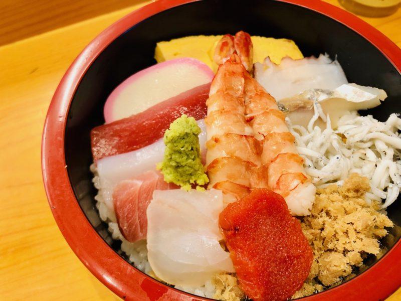 廣寿司のランチちらし