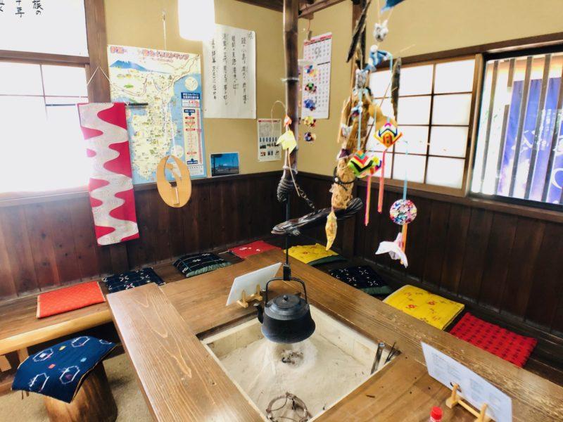 蛭ヶ島茶屋の内観