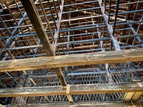 江川邸|築400年!土間から見上げる天井架構がすげ~のよ