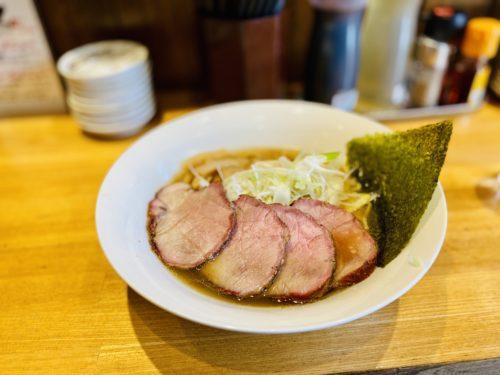 麺百式のラーメン