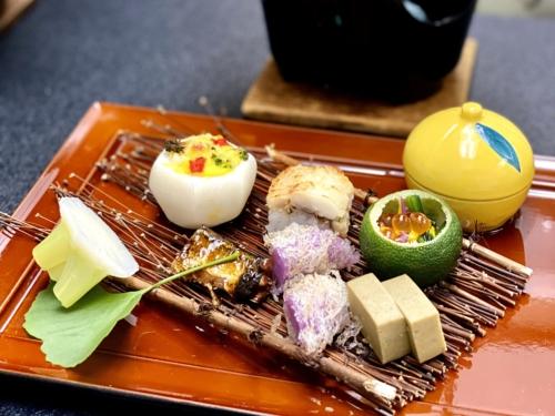 小松家八の坊のお食事